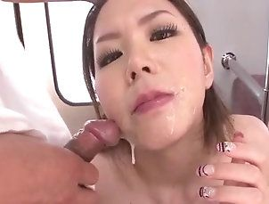 Asian,Public Nudity,hot milf,public place,bus,group action,ripped pantyhose,pink pussy,dildo,toy insertion,cock sucking,cum on face,public sex,asian,japanese China Mimura...