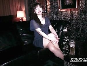 caribbeancom;masturbate,Creampie;Masturbation;Japanese;Pussy Licking;Solo Female 【無】AV女優と飲み...