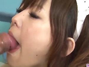 Blowjob;Asian;Group;Japanese;HD,3D;Asian;Blowjob;Cosplay;Group Sex;HD;Japanese;Maid;Oral Sex Miku Airi spins...