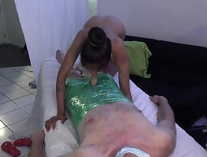 kink;plastic-wrap;seran-wrap;plastic;fetish;riding;drool;sloppy;head;cowgirl;hole;rip;bondage;female-domination;hair-bun;stay-still,Asian;Blowjob;Fetish;Hardcore;Interracial;Pornstar;Arab;Indian;Verified Models;Verified Couples,Covid Couple;Viva Athena I don't want to be...