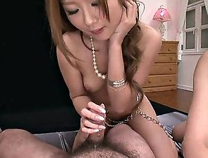 blowjobs,brunette,facials,group-sex,japanese,redheads,threesome,tits Three cochsucking...