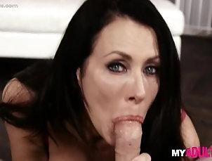 blowjob;deepthroat;gagging;oral;bigboobs;milf;babe,Asian;Big Tits Hot MILF gags on...