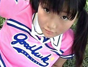 babes,brunette,japanese,softcore,teen Aira Mihana - Pom-pom Girl
