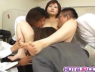 Asian;Cumshot;Group;Japanese;Facials;MILF;Gangbang,Asian;Brunette;Cum Shot;Facial;Gangbang;Japanese;Licking Vagina;MILF;Masturbation;Office;Oral Sex;Small Tits;Toys;Vaginal Masturbation Yukino doll gets...