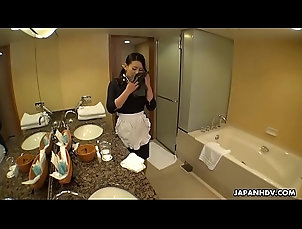 brunette,uniform,high-heels,masturbation,asian,orgasm,maid,japanese,japan,big-tits,jav,uncensored,tights,hairy-pussy,english-subtitles,asian_woman Japanese maid,...