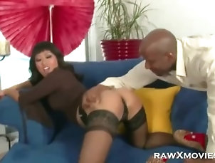 interracial;asian;stockings;hardcore;lingerie,Asian;Hardcore;Interracial Lusty Asian Vixen...